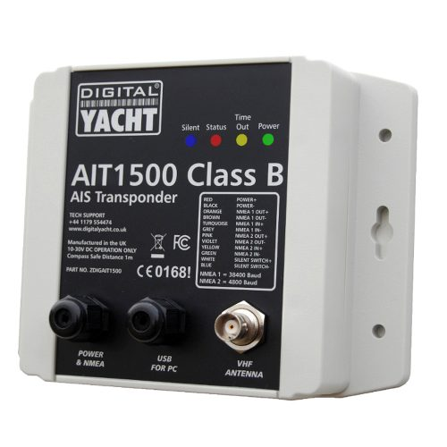 AIS transponder with built-in GPS