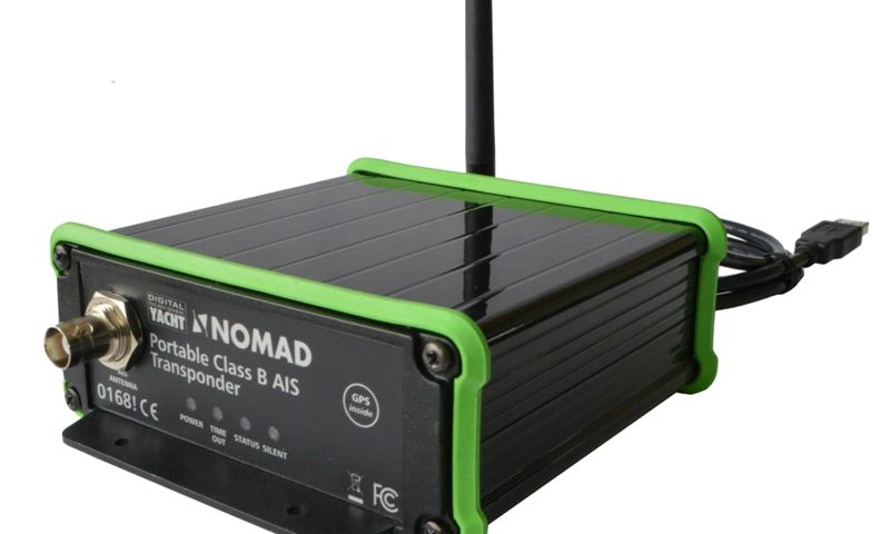 Nomad AIS transponder is a new, portable AIS transponder from Digital Yacht