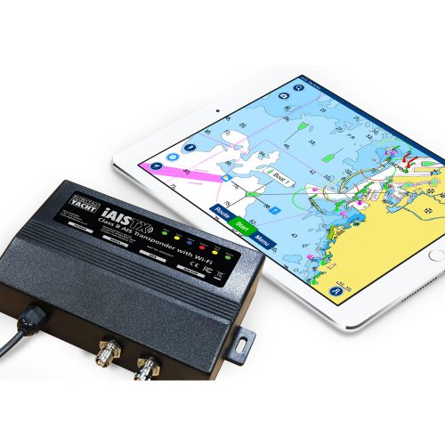 iAISTX is an AIS transponder with wireless interface