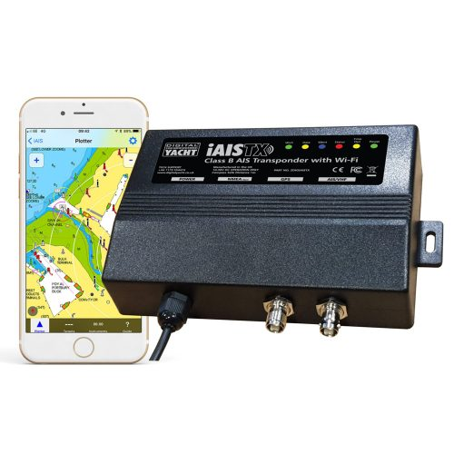 iAIS is an AIS transponder with a wireless interface