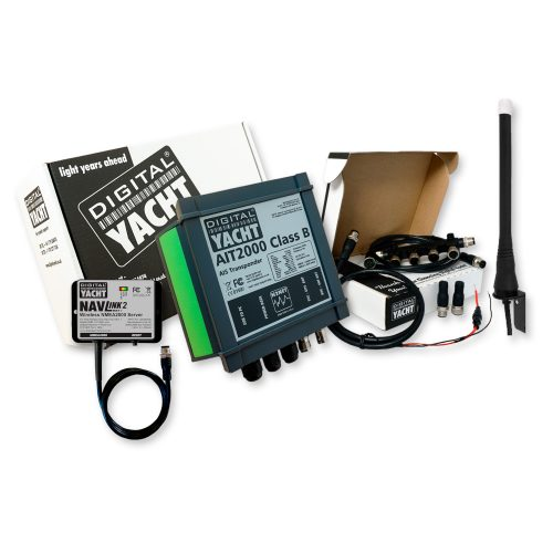 """The perfect pack to receive AIS and to transmit your position as well as streaming wirelessly all your navigation data on navigation apps & software. This pack includes an AIS Transponder with an NMEA 2000 to WiFi server."""