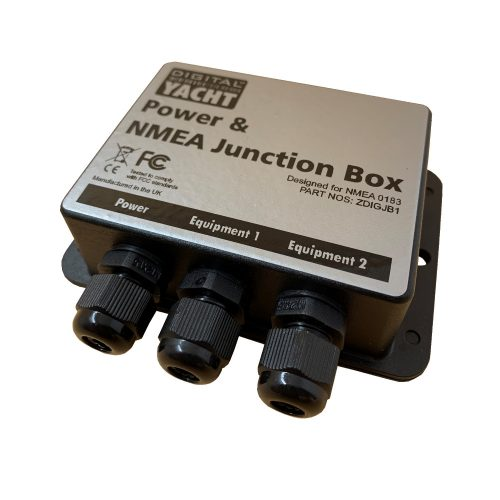 The JB1 is a power & nmea 0183 junction box