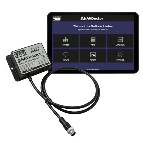 NAVDoctor is a portable NMEA 2000 network diagnostic tool